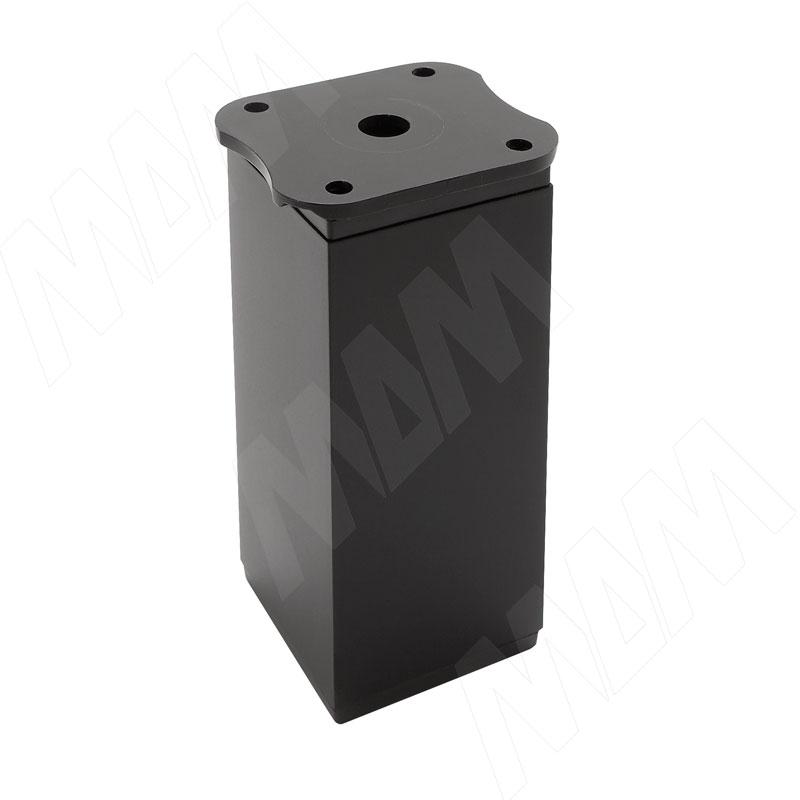 Опора декоративная Н100+18мм черный матовый (ADJ8.100.BL)