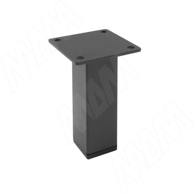 Опора декоративная 30х30х1,2 Н100мм черный фото товара 1 - FIX022.100.BL RU