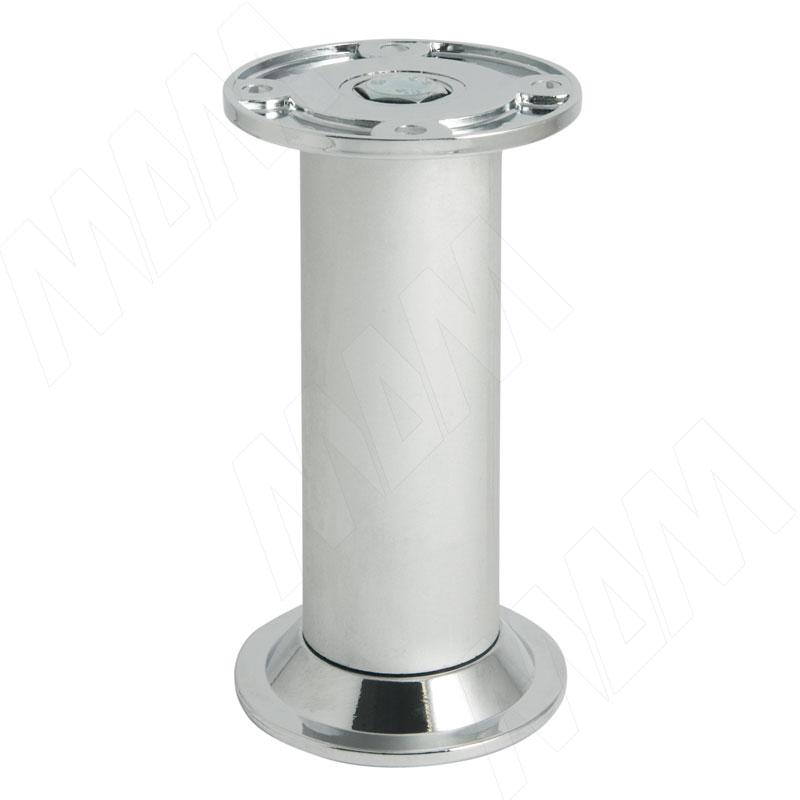 Опора декоративная D32мм, Н100+10мм алюминий (NA10C00/R 100ММ)