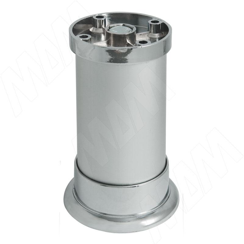 Опора декоративная D50мм, Н100+8мм алюминий (NA12C00/R 100ММ)