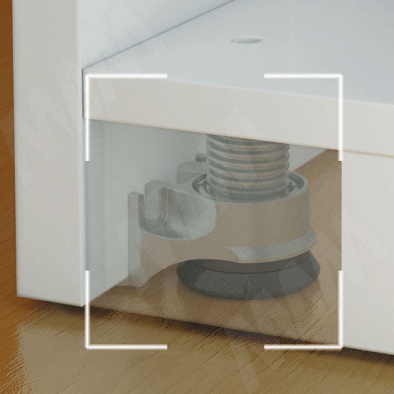 INTEGRATO Опора регулируемая с шипами, регулировка 25 мм, винт нейлон фото товара 2 - 6563 860