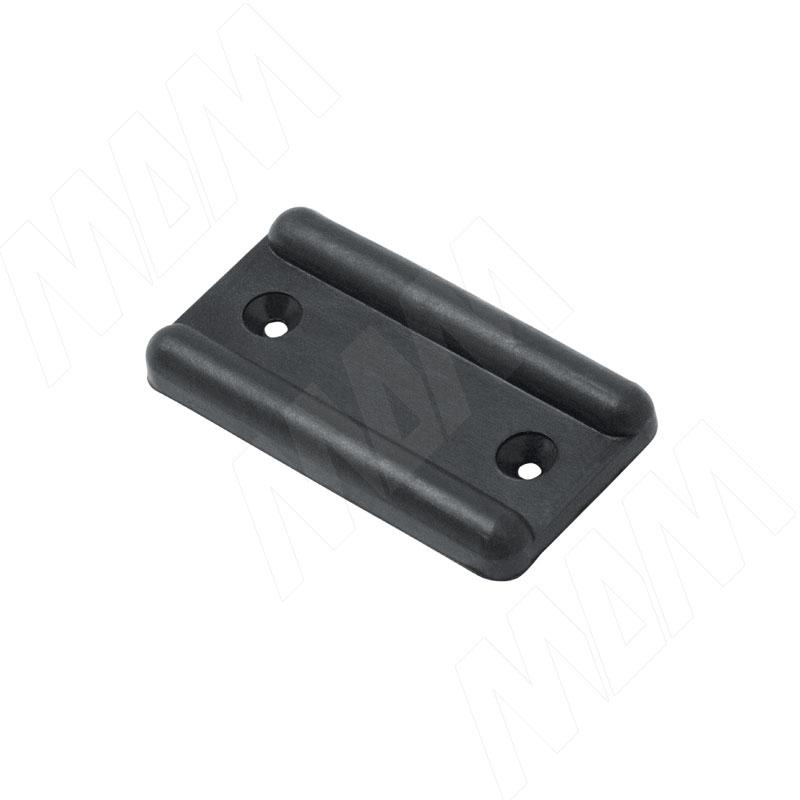 Подпятник мебельный под гвоздь, черный, 1000 шт. (ГВОЗДЬ 1000 ШТ) флягодержатель zefal pulse fiber glass цвет черный