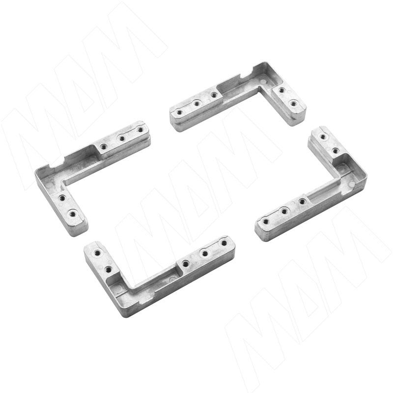 SECRET Комплект уголков для сборки узкого рамочного профиля (HH148SE)