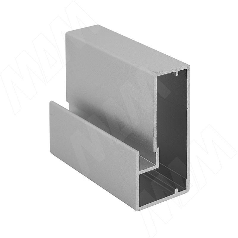 INTEGRO Профиль рамочный широкий, 45х20х20, серебро, L-6000 (IN01119A) профиль рамочный мдф 55х16х2070 мм цвет белый