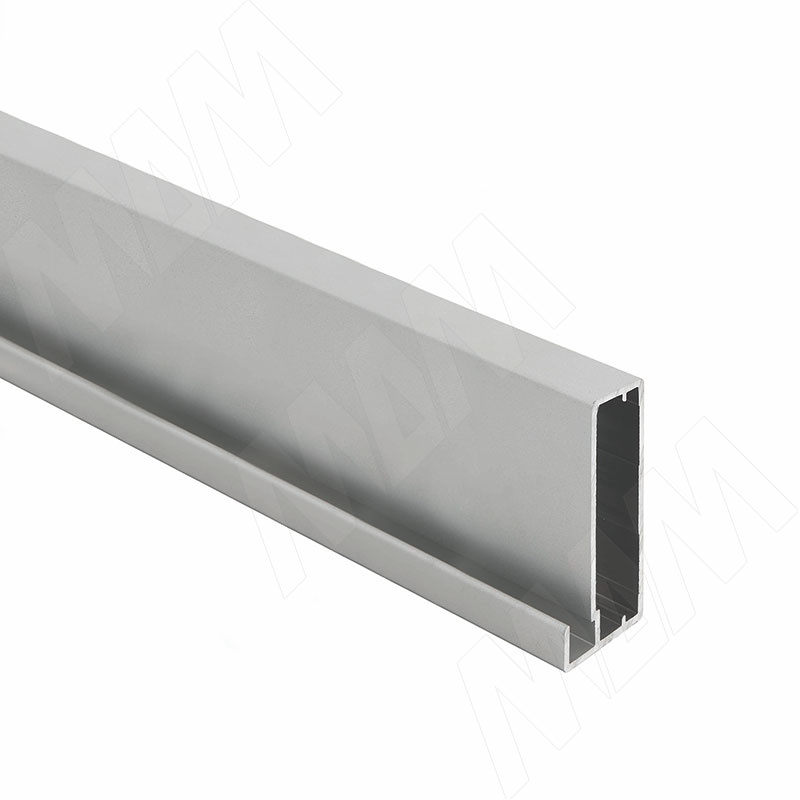 INTEGRO Профиль рамочный широкий, 45х20х8, серебро, L-6000 (IN01133A) профиль рамочный мдф 55х16х2070 мм цвет белый