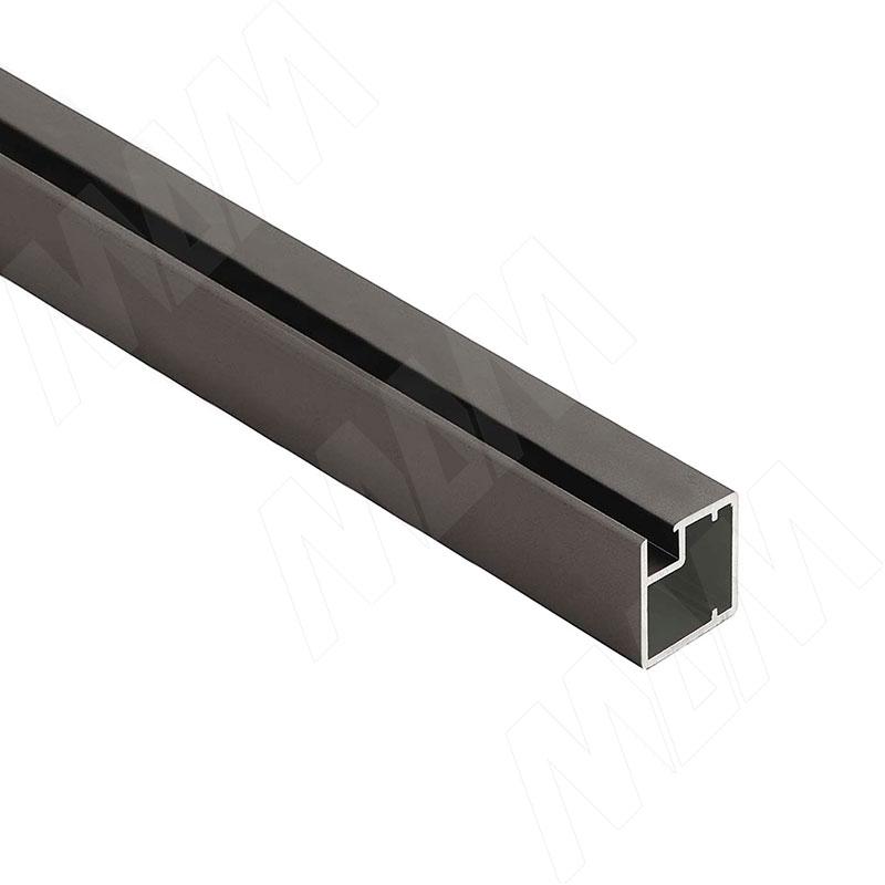 INTEGRO Профиль рамочный узкий, 19х20х19, бронза, L-6000 (IN04117A) профиль рамочный мдф 55х16х2070 мм цвет белый