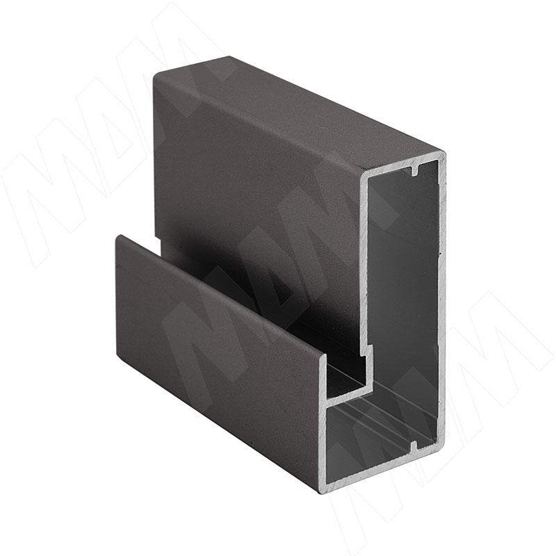 INTEGRO Профиль рамочный широкий, 45х20х20, бронза, L-6000 (IN04119A) профиль рамочный мдф 55х16х2070 мм цвет белый
