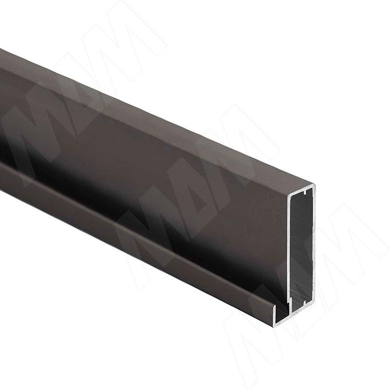 INTEGRO Профиль рамочный широкий, 45х20х8, бронза, L-6000 (IN04133A) профиль рамочный мдф 55х16х2070 мм цвет белый