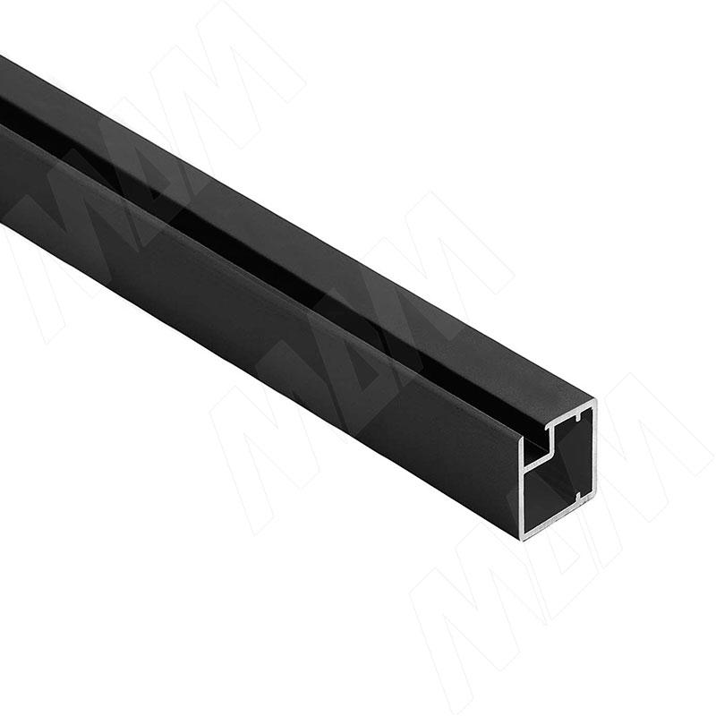 INTEGRO Профиль рамочный узкий, 19х20х19 мм, черный, L-6000 фото товара 1 - IN09117A