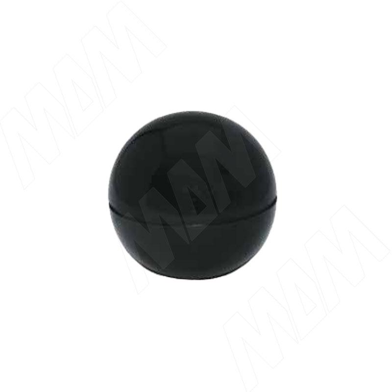 Окончание трубы (шаровое) черный (JOK.013.BL)