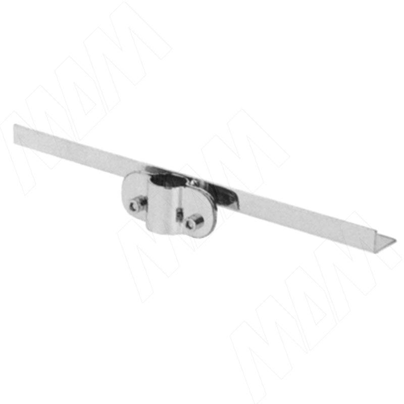Полкодержатель 300 мм, односторонний, хром (JOK.063.CH 03) цена 2017