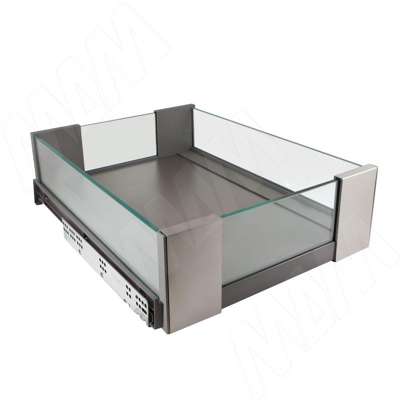 VENUS Ящик со стеклянными боковинами, 480/550 мм, плавн.закр. (ACRV48/55GMVG)