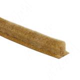 INTEGRO Щеточный уплотнитель, золото, 12 мм