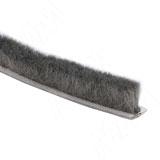 INTEGRO Щеточный уплотнитель, серый, 12 мм
