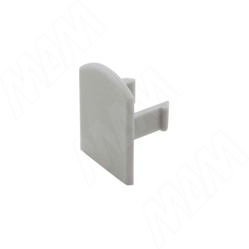 PORTAGLASS LUX Wall Заглушка для нижнего профиля (CAP91243) заглушка пластиковая для д профиля квадратного 20 sb черные