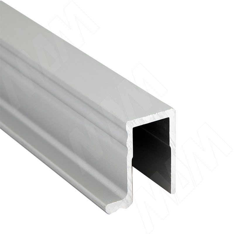 FOLD Направл. верх., серебро анод., L-3200 фото товара 1 - FOLD15-03 L=3200