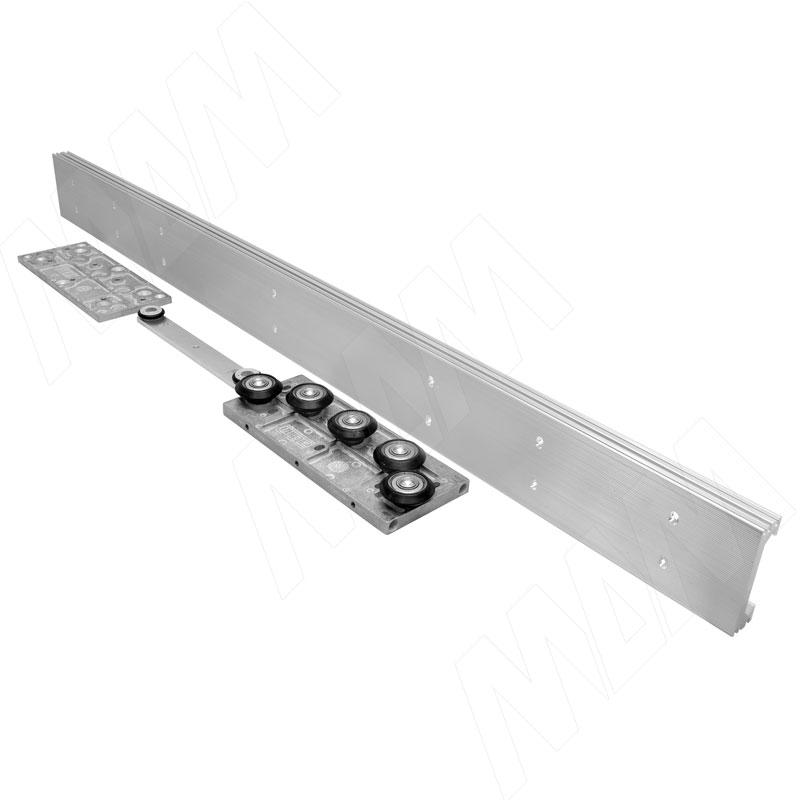 GHOST Parete Комплект на одну дверь до 50 кг, для проема до 1120 мм, L-1300 (GHP1300)