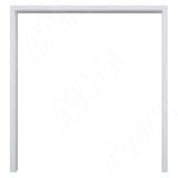 GUSTAVSON Рамка и наличники для двух дверей шириной 900 мм, толщина 100 мм, МДФ, белый