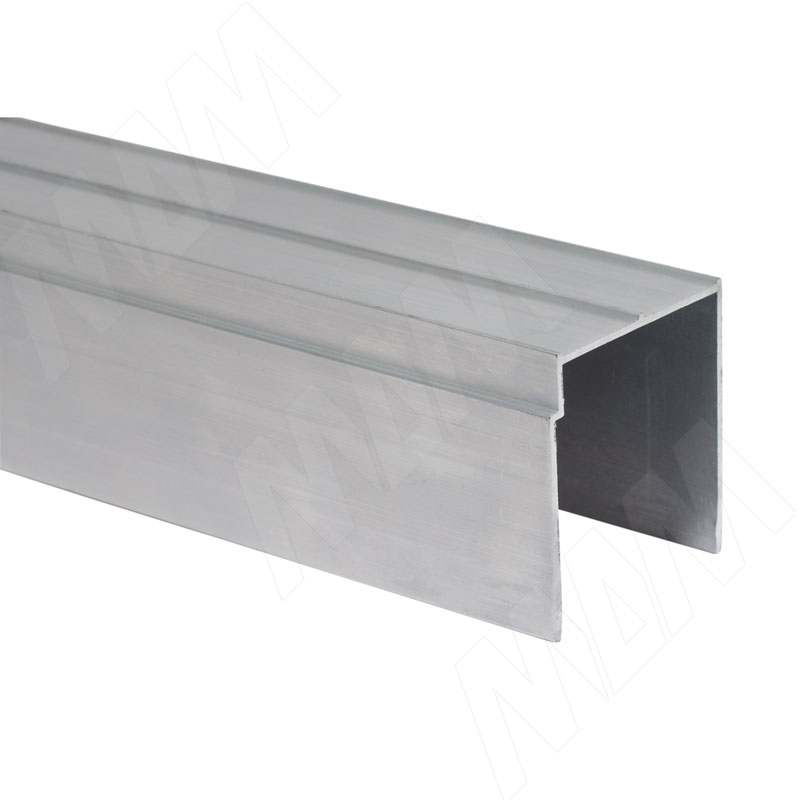 INTEGRO Направляющая одинарная верхняя серебро, L-6000 (IN01061A)