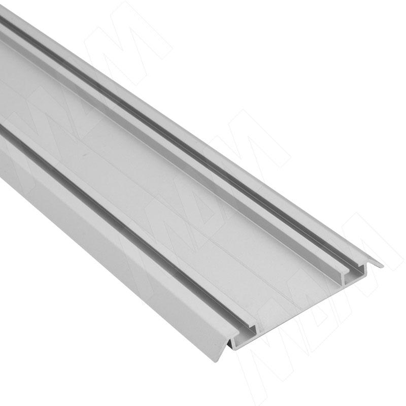 Фото - INTEGRO Направляющая нижняя серебро, L-3000 (IN01100A-S3) кухня виктория 3000