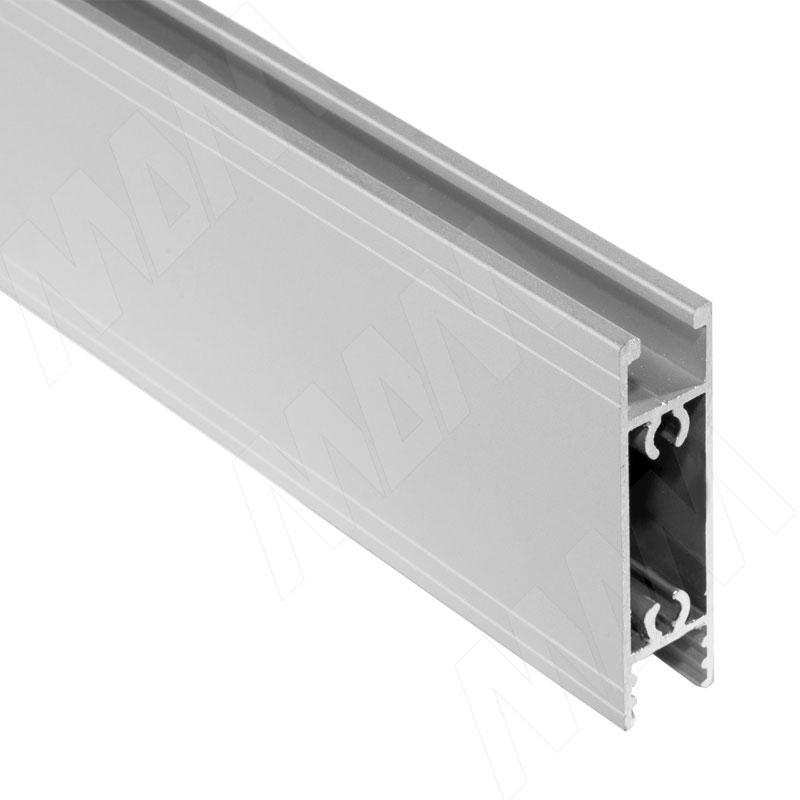 INTEGRO FLY Горизонтальный профиль верх/низ серебро, L-2000 (IN01125-S2) профиль s2 line 7977 t90 021264