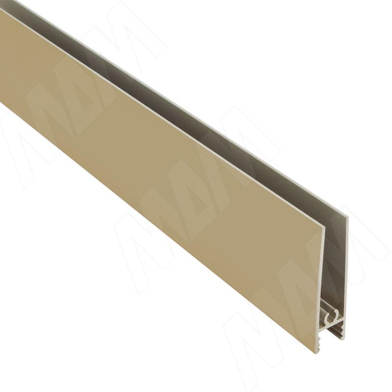 INTEGRO Горизонтальный профиль нижний золото, L-6000 (IN03050A)