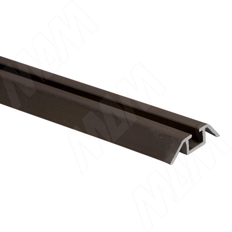 INTEGRO Направляющая одинарная нижняя бронза, L-6000 IN04051A - Купить в интернет-магазине в Москве и России. МДМ. Все для мебели.