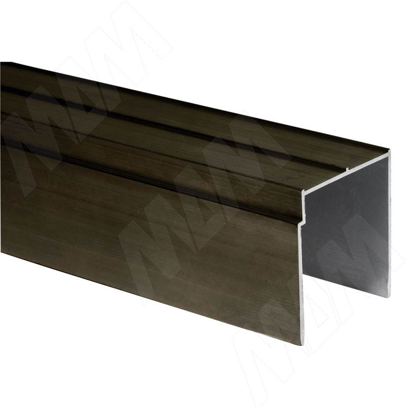 цена INTEGRO Направляющая одинарная верхняя бронза, L-6000 (IN04061A)