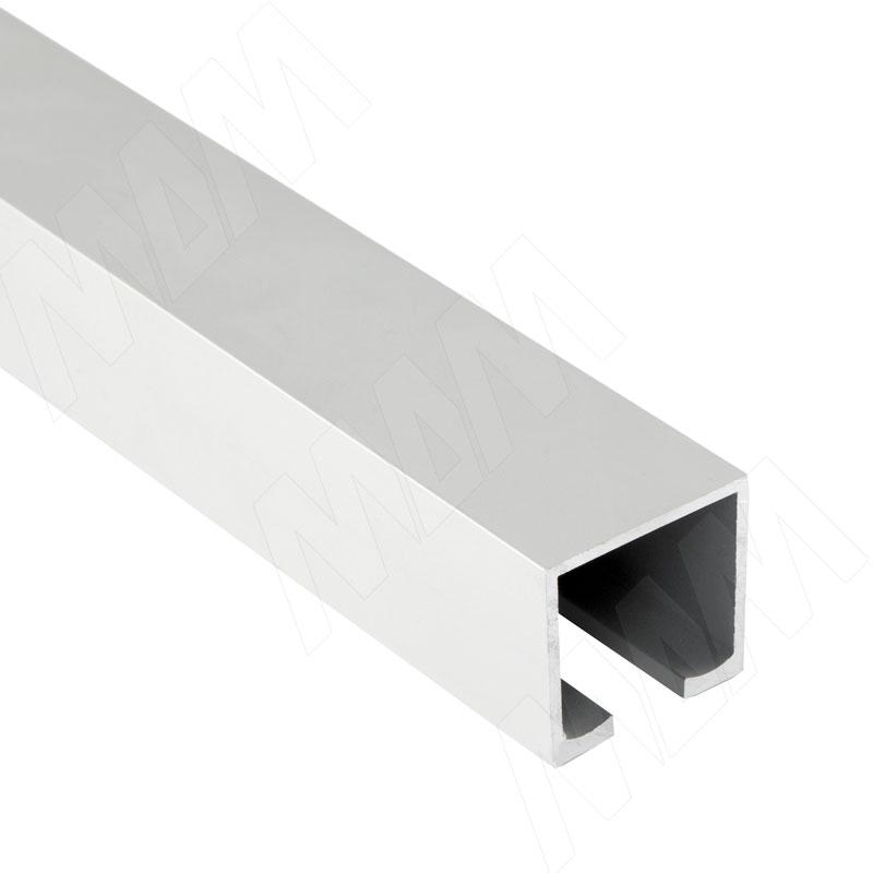 Фото - STANDART Направляющая верхняя, серебро, L-2000 (K-075S2PRA) ps48 направляющая верхняя усиленная быстрый монтаж серебро l 3050 pr483002004a s