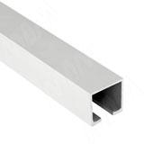 STANDART Направляющая верхняя, серебро, L-2000