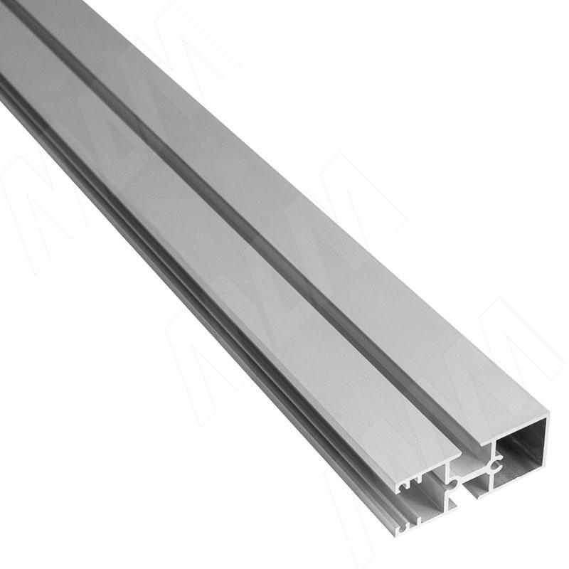 Фото - KALI несущий профиль B, широкий, серебро, L-3000 мм (KL23GR) профиль декоративный ol90 3000 мм серебро