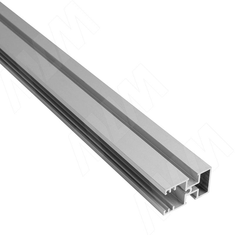 Фото - KALI несущий профиль D, узкий, серебро, L-3000 мм (KL43GR) профиль декоративный ol90 3000 мм серебро