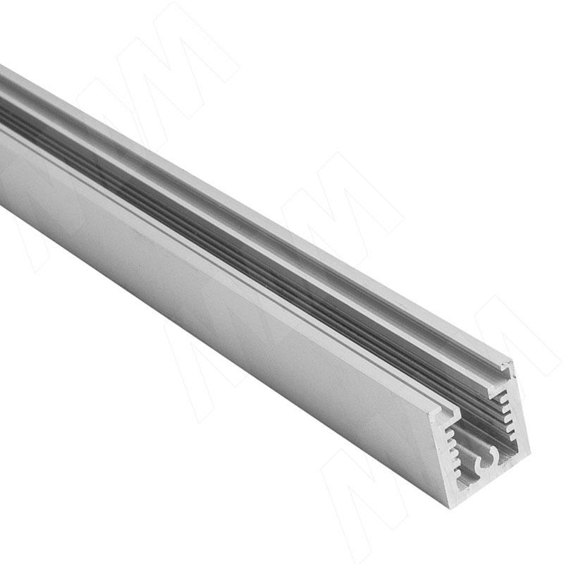Фото - KALI несущий профиль T, горизонтальный, серебро, L-3000 мм (KL53GR) профиль декоративный ol90 3000 мм серебро