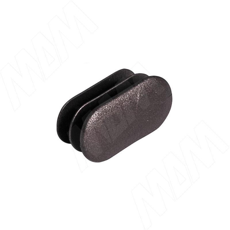 KALI заглушка для овальной штанги, бронза (KL7030BR) заглушка верхней штанги для fisher