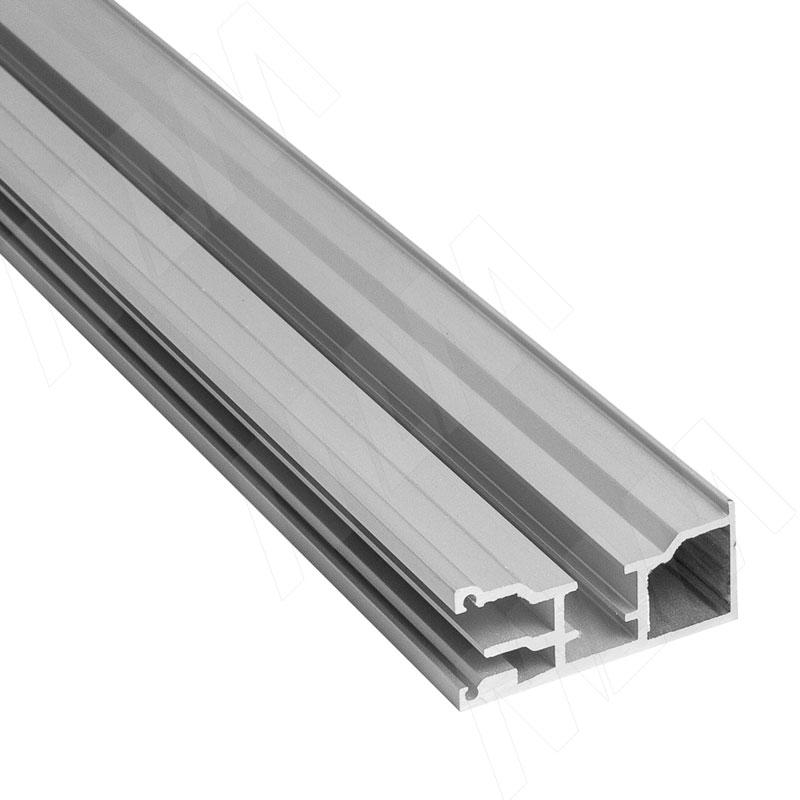 Фото - KALI несущий профиль Е, серебро, L-3000 мм (KL93GR) профиль декоративный ol90 3000 мм серебро