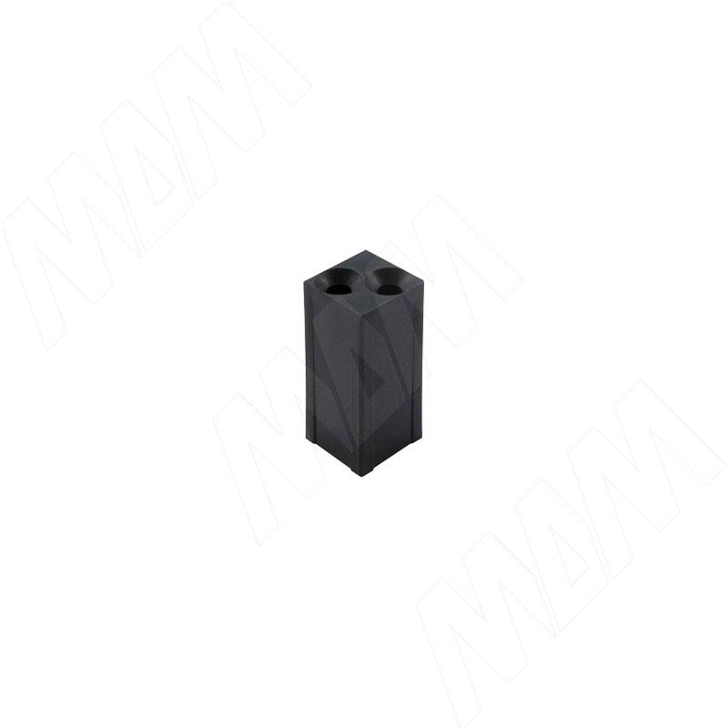 Соединитель скрытый, черный (LFCONBL)