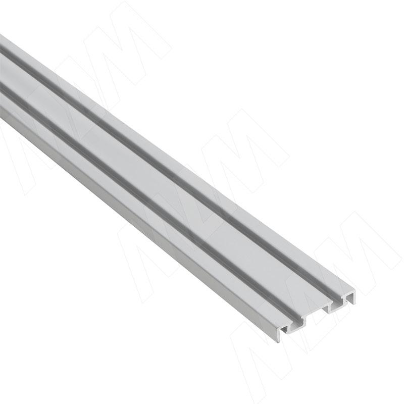 Фото - MiniShop направляющая нижняя, серебро, L-3000 (MSA018) кухня виктория 3000