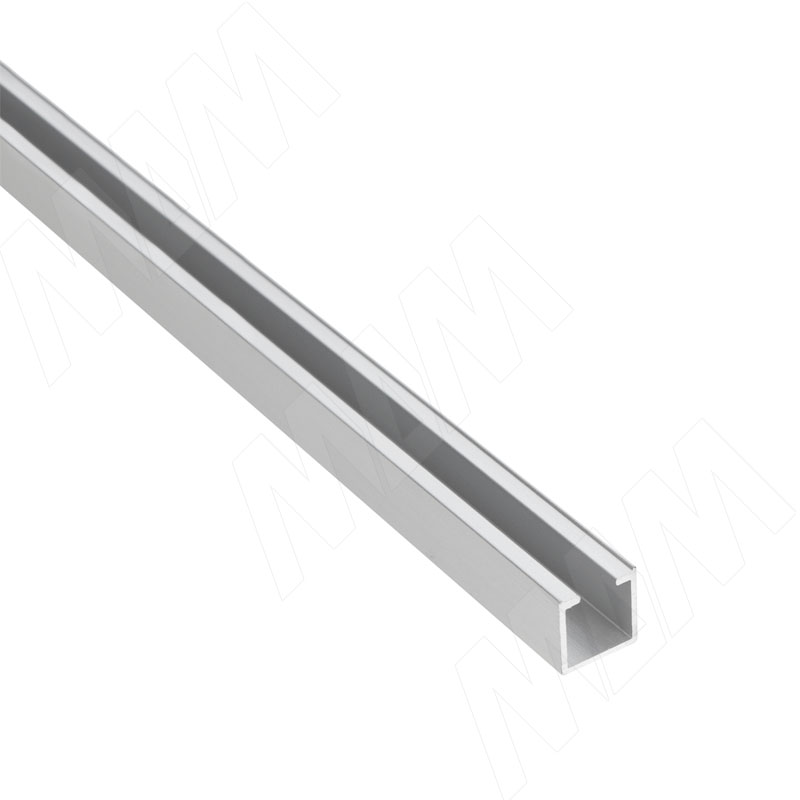 Фото - MiniShop вертикальный профиль, серебро, L-3000 (MSA019) профиль декоративный ol90 3000 мм серебро