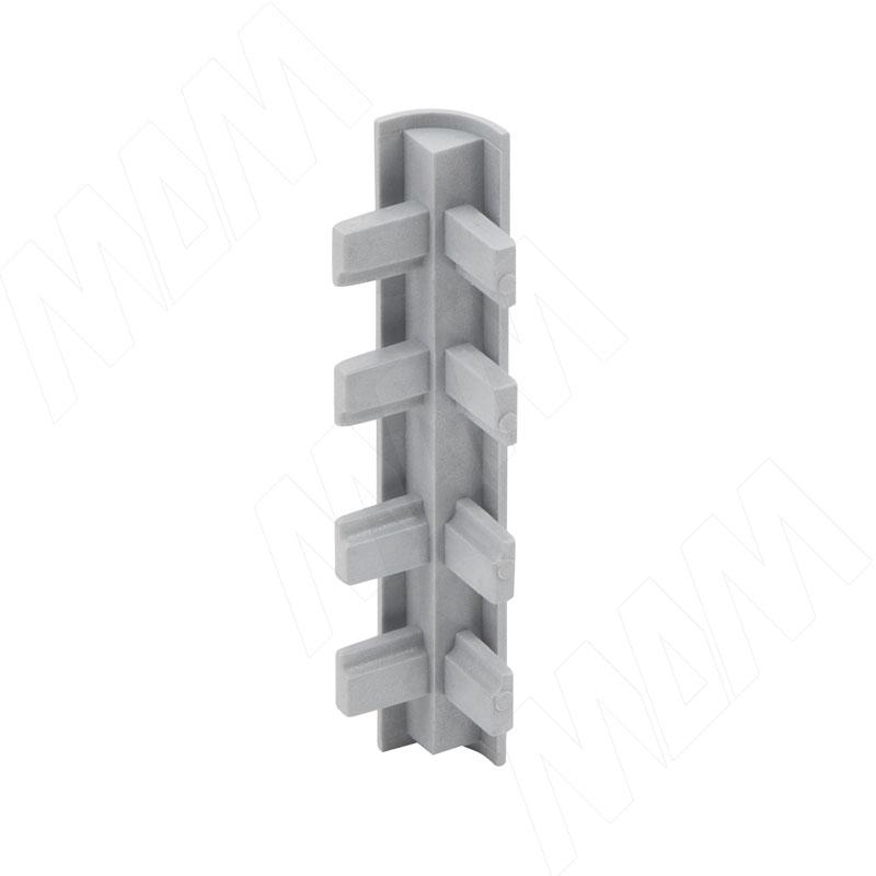 STANDART Коннектор угловой для декоративной планки (P-1193) коннектор elektrostandart trc 1 1 l wh коннектор угловой для однофазного шинопровода белый