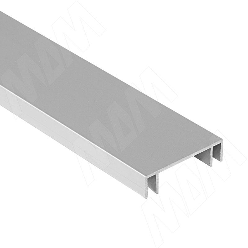 Фото - MiniCabinet Направляющая верхняя двойная, серебро, L-2750 (PR011564A-S) ps48 направляющая верхняя усиленная быстрый монтаж серебро l 3050 pr483002004a s