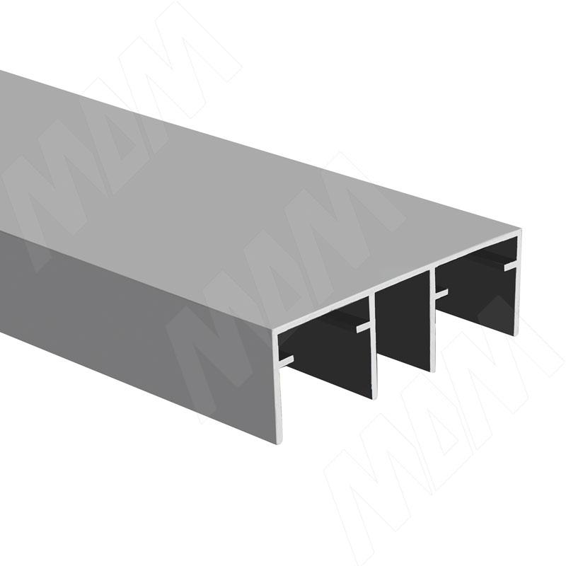 IKM-80AY Направляющая верхняя двойная, серебро, L-2000 (PR012057A-S2) недорого