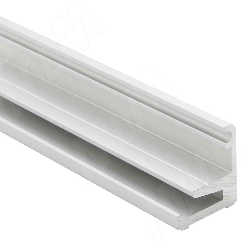 PORTAGLASS LUX Wall Нижний базовый профиль для стеновых панелей, серебро, L-1000 (PR0141236A)