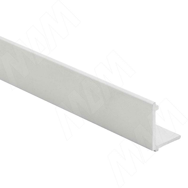 PORTAGLASS LUX Wall Нижний фиксирующий профиль для стеновых панелей, серебро, L-1000 (PR0141237A)