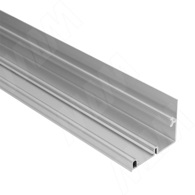 Фото - PS11 Направляющая верхняя усиленная, серебро, L-2000 (PR1170006A-S2) ps48 направляющая верхняя усиленная быстрый монтаж серебро l 3050 pr483002004a s