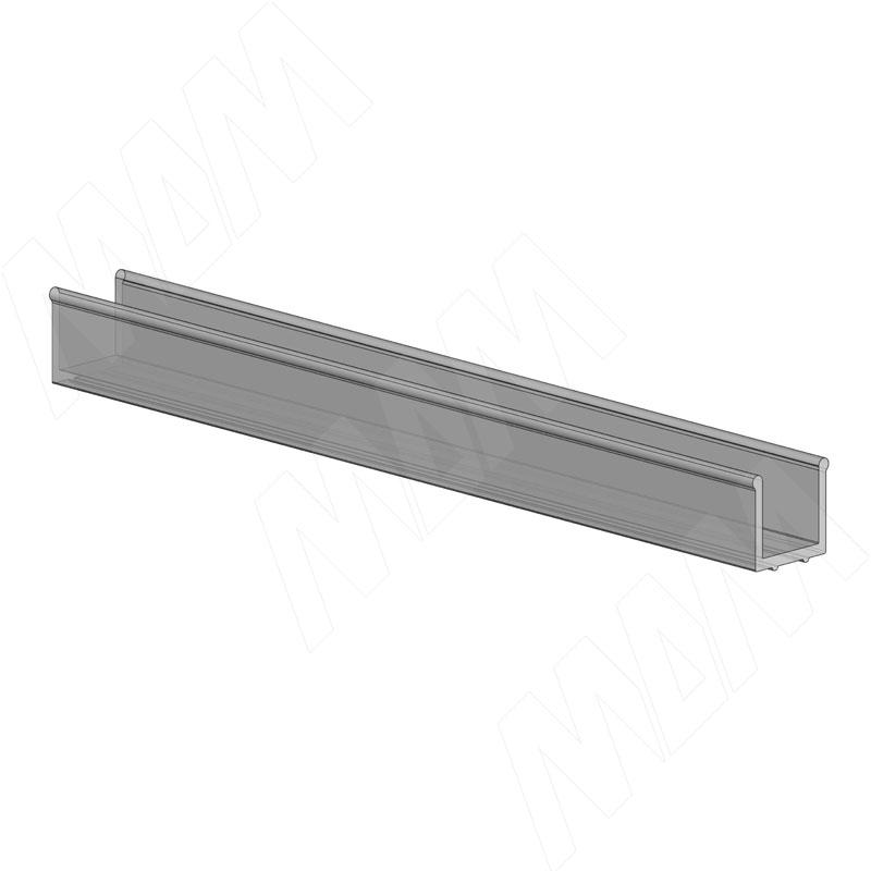 PS19 Уплотнитель для стекла, толщ. стенок 0,6 мм, L-3000 (PR20820004)