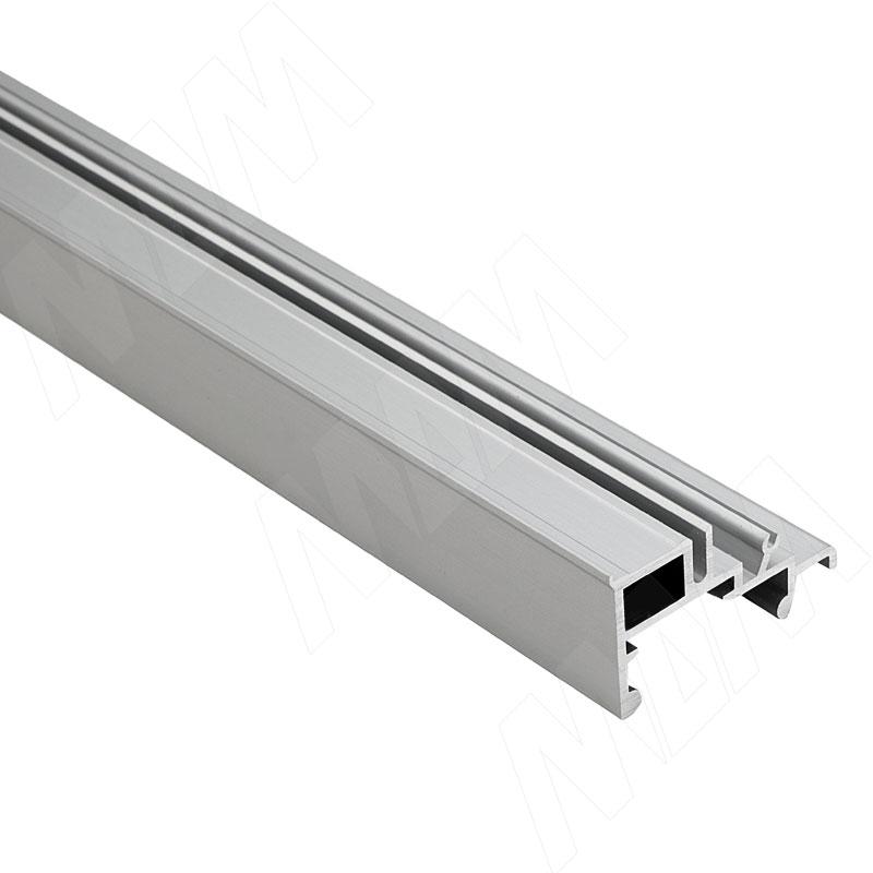 PS40 Направляющая нижняя, серебро, L-4000 (PR4070031040PR)