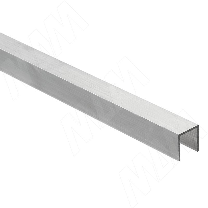 PS65 Направляющая нижняя для деревянной двери, серебро, L-3000 (PR657020200015-S3)