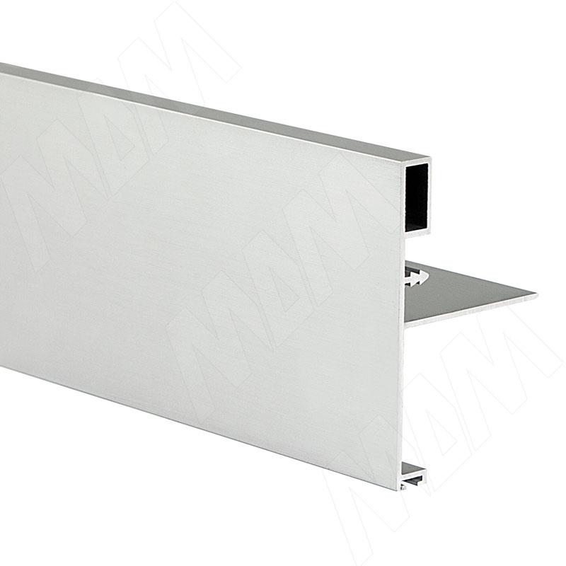 Профиль-ручка широк., для фасада 18 мм, серебро, L-5300 (PR917003049A)