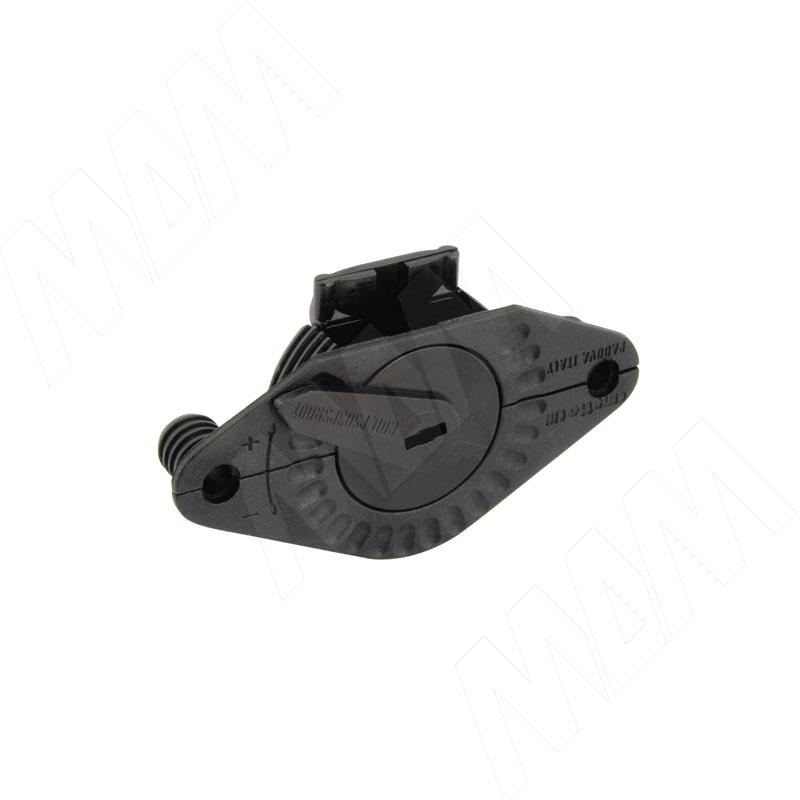 PS03 Ригель верхн. с ручной регул., черный (PS03PS9001)