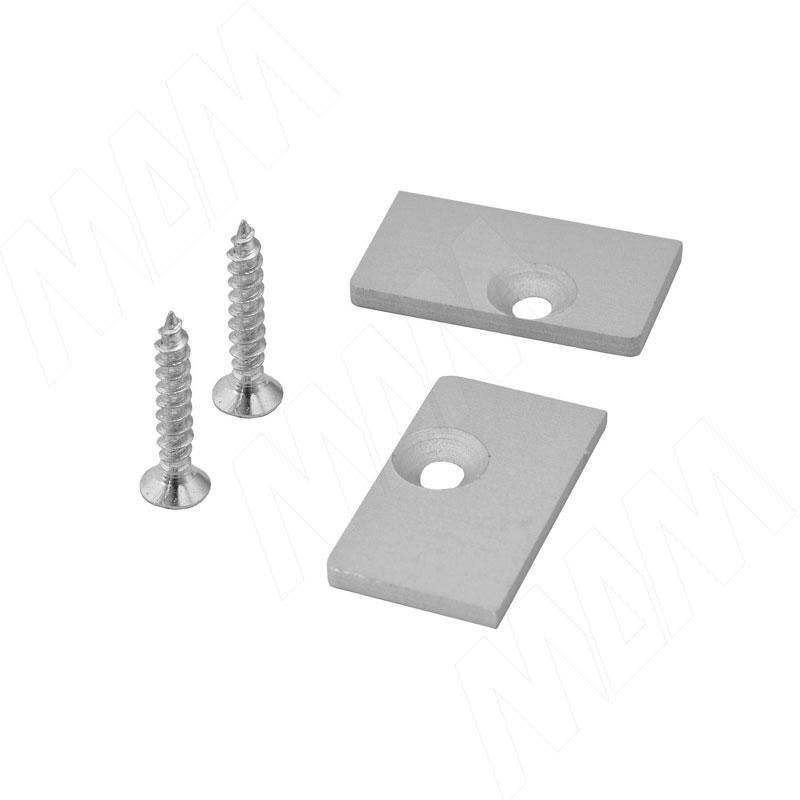 PS22 Алюминиевая заглушка для напр. 22 мм, комп. лев./прав. (PS22KT70020009)